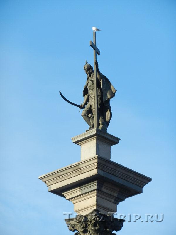 Колонна Сигизмунда III, Замковая площадь, Варшава