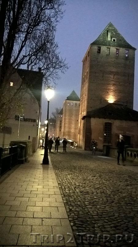 Башни, Страсбург