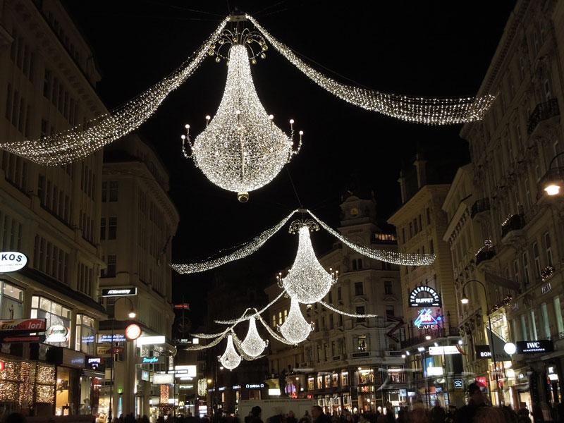 Рождественское украшение Грабена, Вена