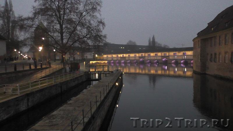 Дамба Вобана, Страсбург