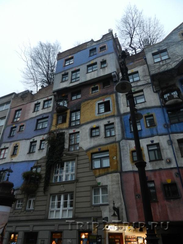 Дом Хундертвассера (деталь), Вена