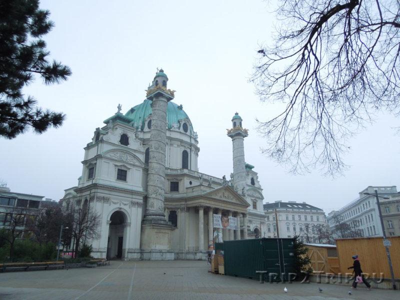 Карлскирхе, Вена