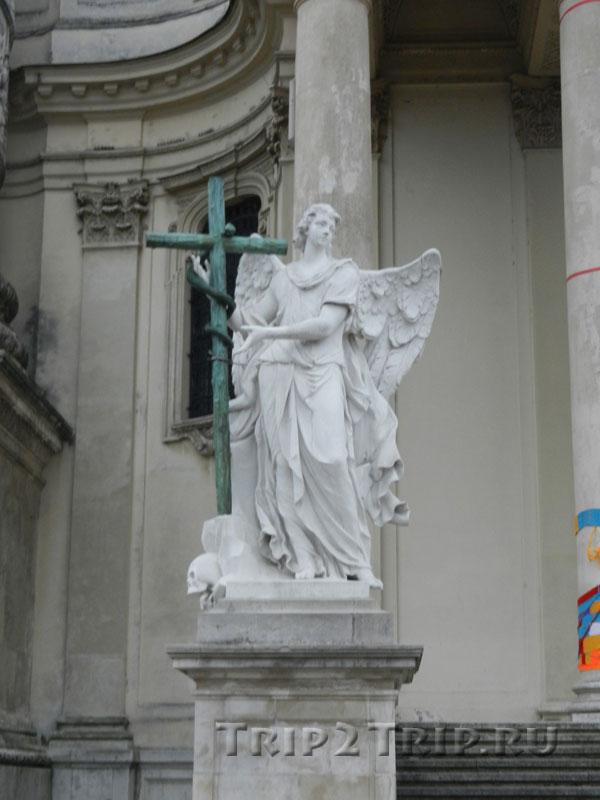 Карлскирхе (деталь), Вена