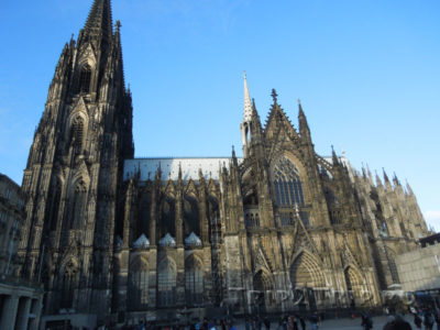 Кафедральный собор, вид с юга, Кёльн