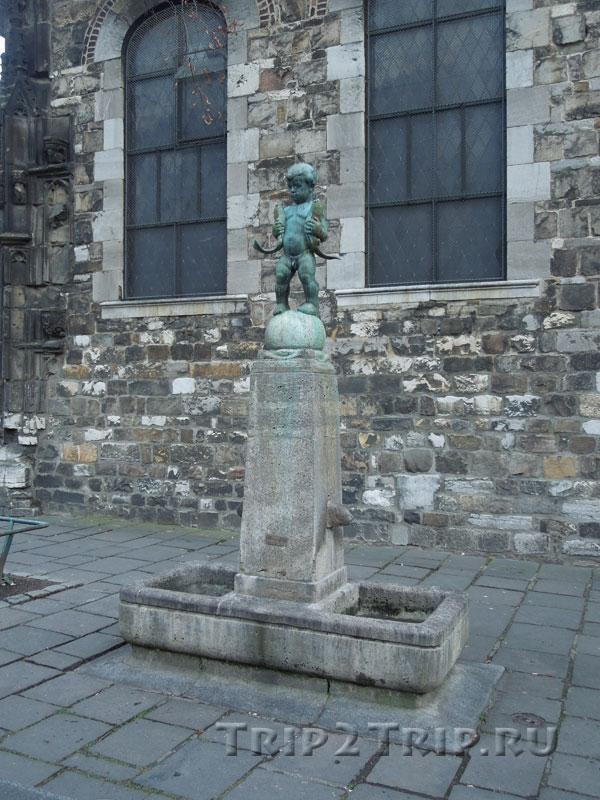 Мальчик с рыбами, Ахен
