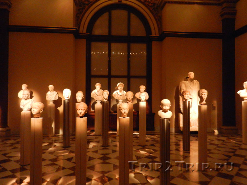 Греко-римская часть экспозиции