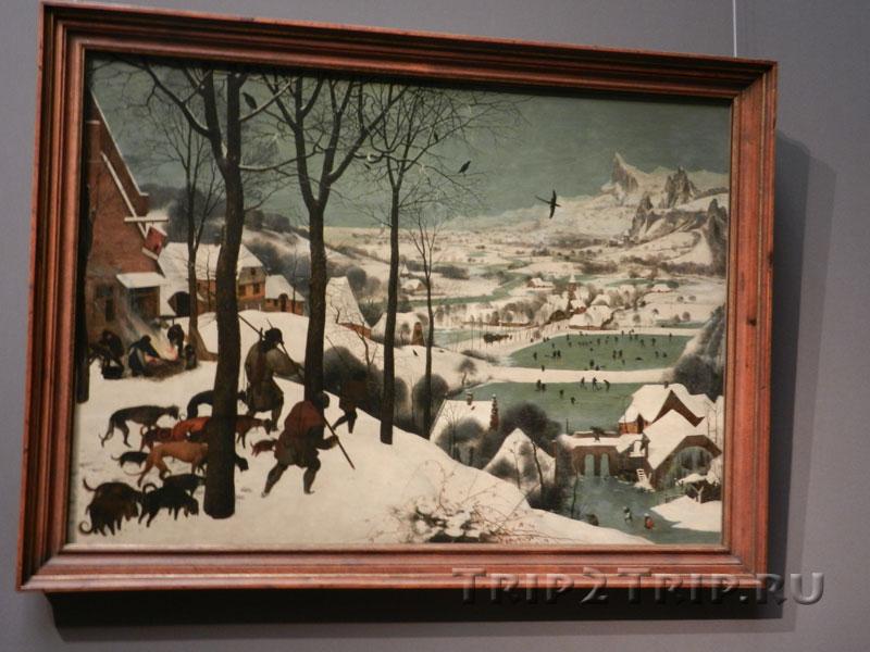 Охотники на снегу, Питер Брейгель Старший