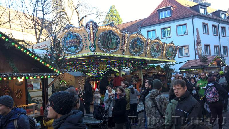 Рождественская ярмарка, Фрайбург-им-Брайсгау, Германия