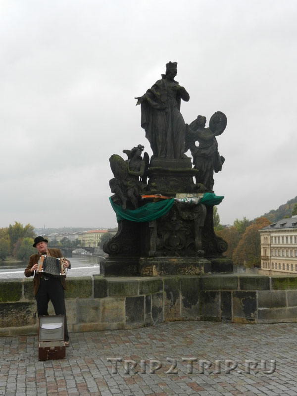 Св. Франциско Борджиа, Карлов Мост, Прага.