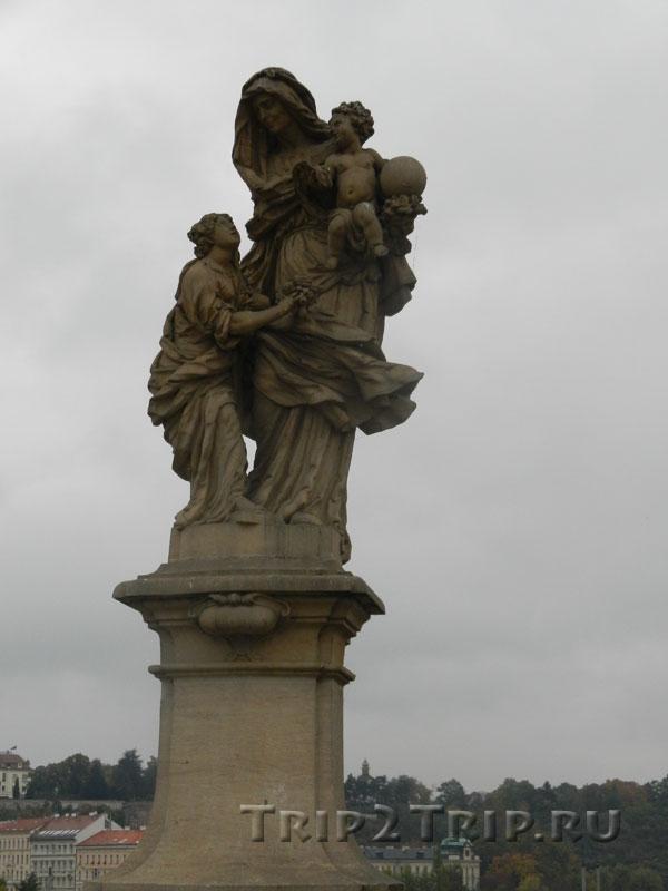 Св. Анна, Карлов Мост, Прага.