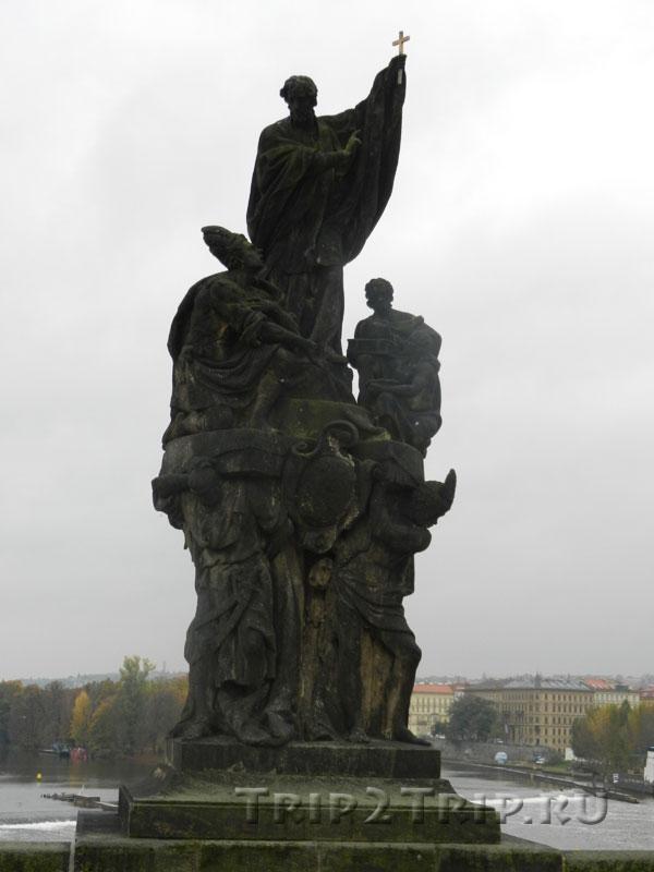 Св. Франциск Ксаверий, Карлов Мост, Прага.