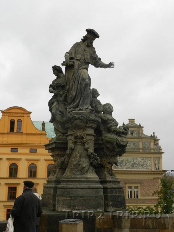 Св. Иво, Карлов Мост, Прага.