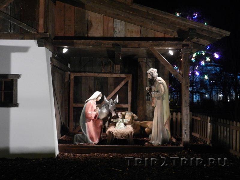 Рождественский вертеп, венская ярмарка