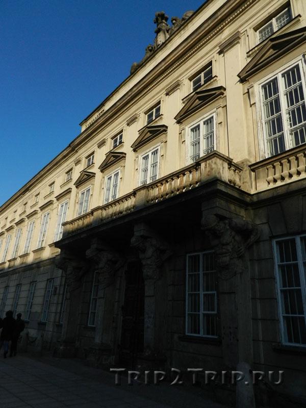 Дворец Тышкевичей-Потоцких в Варшаве