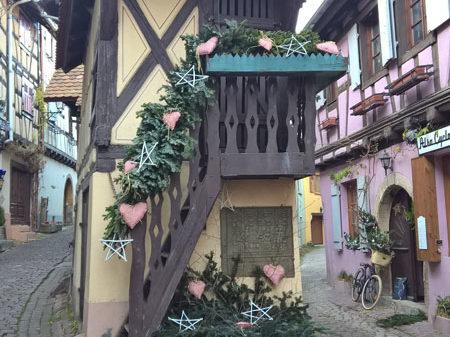 Дом, ставший визитной карточкой Эгисхайма. Франция