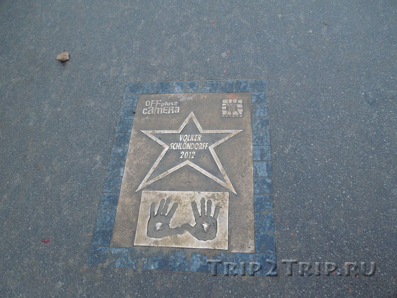 Звезда Фолькера Шлёндорфа, Аллея звёзд, Краков