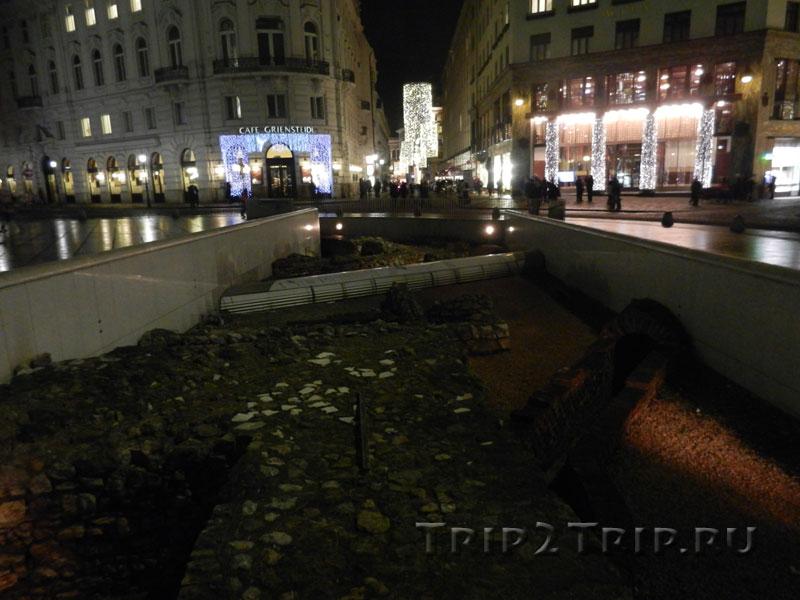 Раскопки на Михаэлерплац, Вена