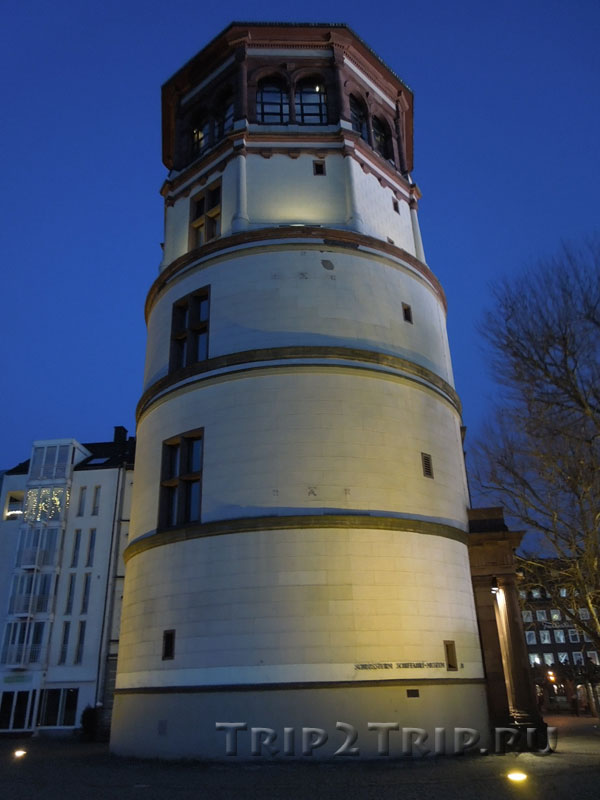 Замковая башня на Бургплац, Дюссельдорф