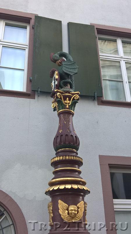 Фонтан Василиск, Базель