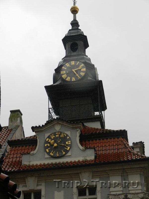 Башенка на ратуше в Йозефове, Прага