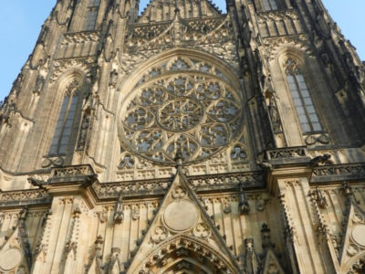 Фасад собора святого Вита, Градчаны, Прага