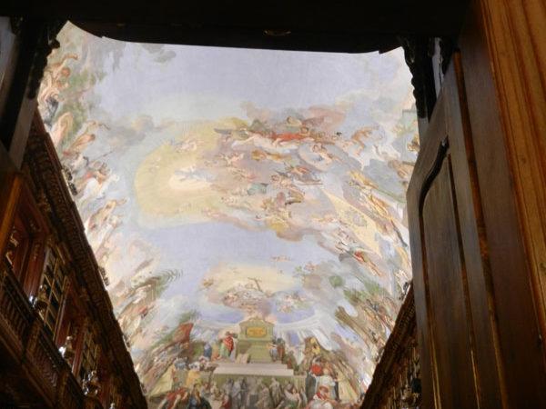 Барочный потолок Философского зала, Страговский монастырь, Прага