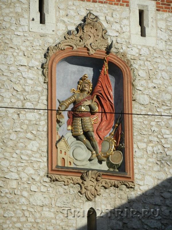 Святой Флориан на Флорианской башне, Краков