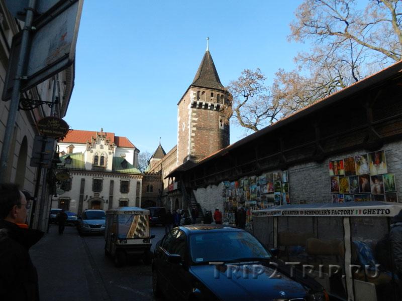 Столярная и Тесельная башни, Краков