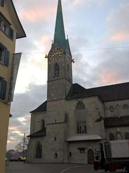Фраумюнстер, Цюрих