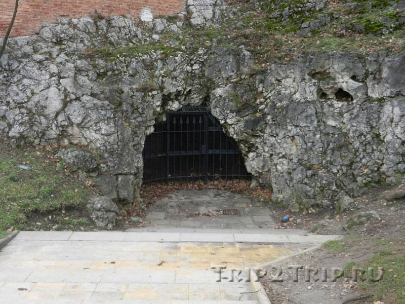 Яма (пещера) вавельского дракона, Краков