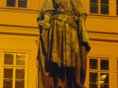 Статуя Карла IV, Площадь Крестоносцев (Кржижовницкая), Прага