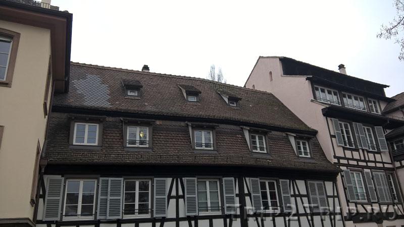 Типичные крыши Страсбурга в швабском (южно-алеманском) стиле
