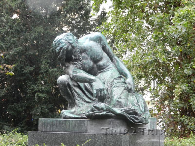 Статуя Моисея, Йозефов, Прага