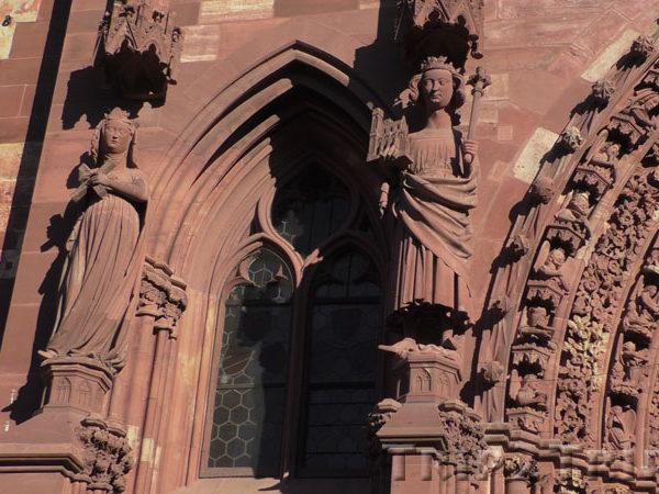 Статуи Императора Генриха II и его жены Кунигунды, Мюнстер, Базель