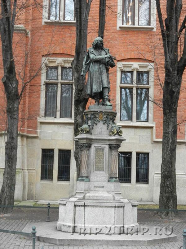 Памятник Николаю Копернику, Краков