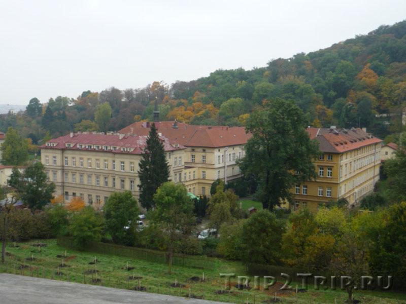 Панорама Праги от Страговского монастыря