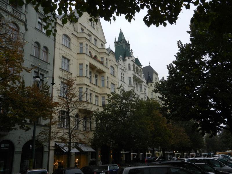 Парижская улица, Йозефов, Прага