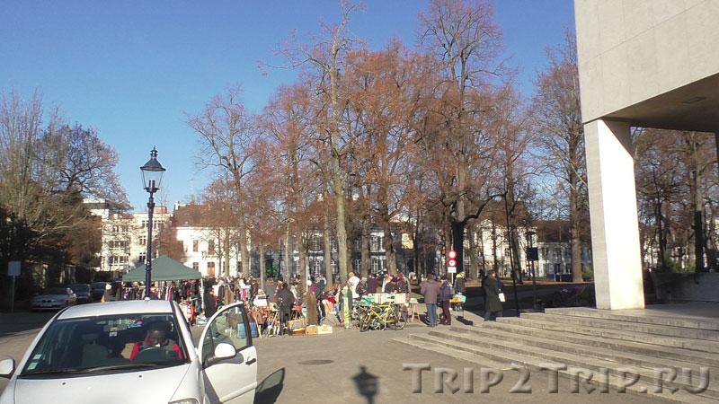 Блошиный рынок на Петерсплатц, Базель