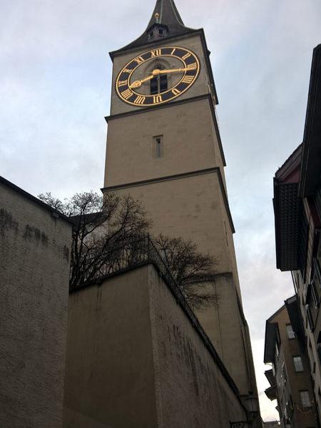 Башня Петерскирхе, Цюрих