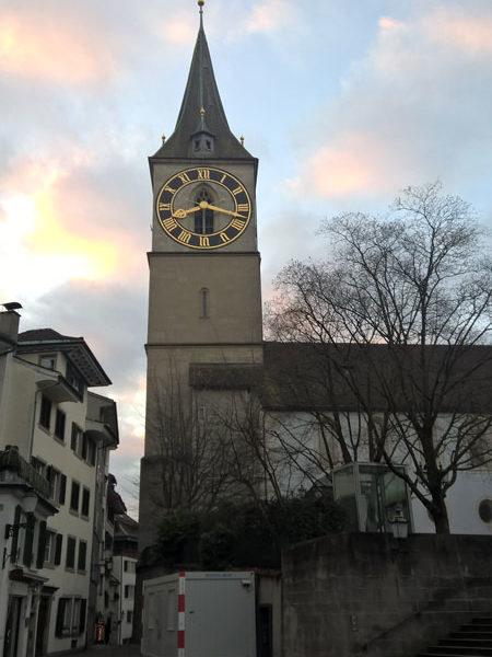 Колокольня Петерскирхе, Цюрих