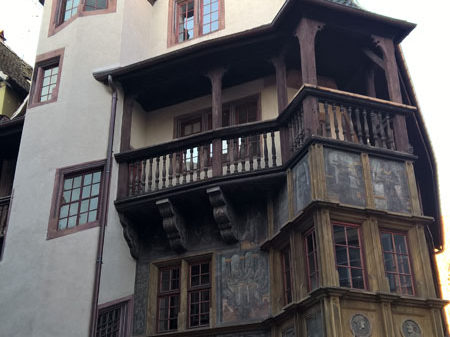 Дом Пфистера, Кольмар