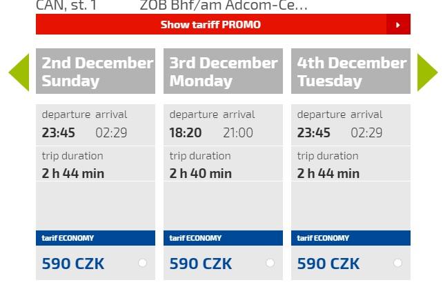 Расписание автобусов Пльзень - Нюрнберг компании Eurolines