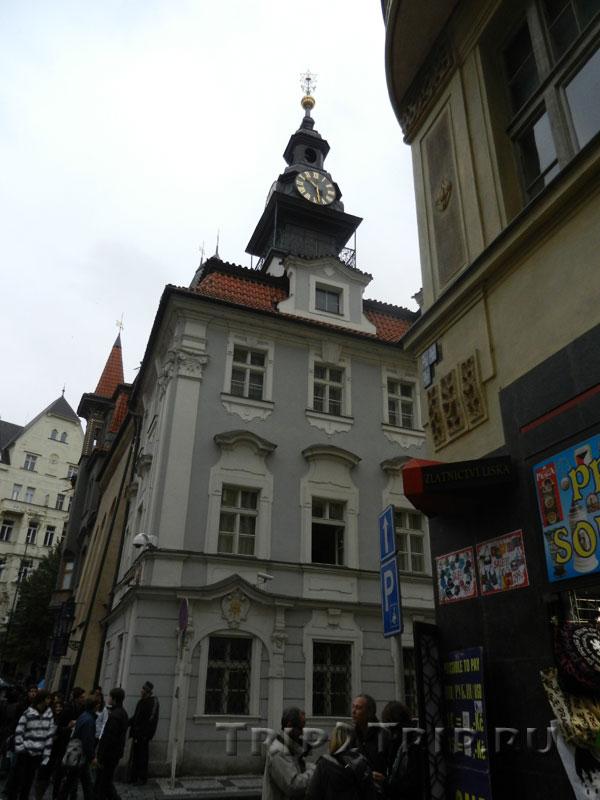 Еврейская ратуша и Высокая Синагога, Йозефов, Прага