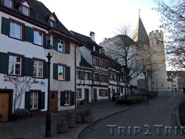 Шпалентор, вид от Петерсплац, Базель