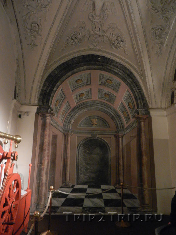 Кабинет курьёзов, Страговский монастырь, Прага