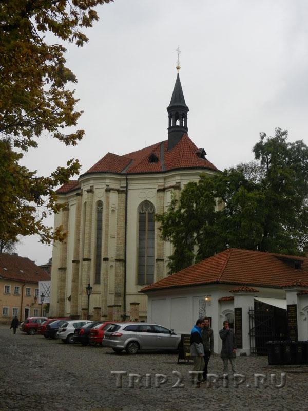 Костел св. Роха, Страговский монастырь, Прага