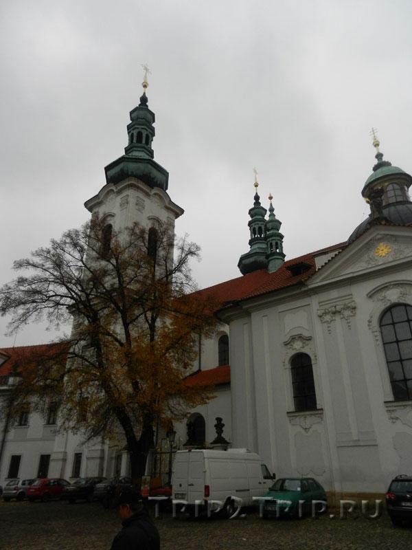 Базилика Вознесения Девы Марии, Страговский монастырь, Прага