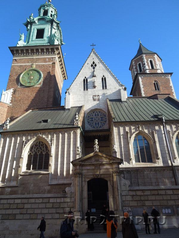 Фасад собора свв. Станислава и Вацлава, Вавель, Краков