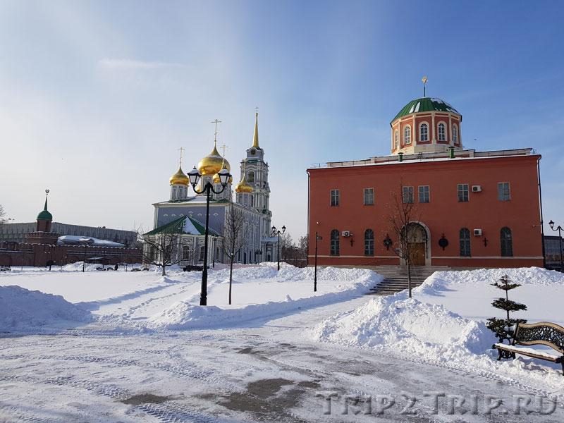 Богоявленский собор, тульский кремль