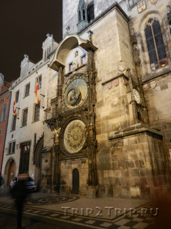 Староместские куранты на ратуше, Прага